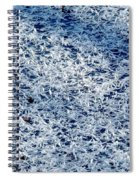 Frost Flakes On Ice - 32 Spiral Notebook