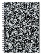Frost Flakes On Ice - 35 Spiral Notebook