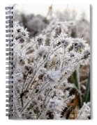 Frost In The Field Spiral Notebook