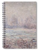 Frost Near Vetheuil Spiral Notebook
