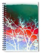 Frost Shrouded Tree Spiral Notebook