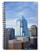 Frost Tower Iphone And Prints Spiral Notebook
