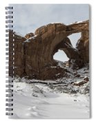Frosted Double Arch Spiral Notebook