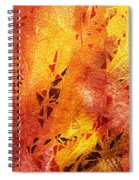 Frosted Fire IIi Spiral Notebook