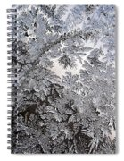 Frosted Glass Abstract Spiral Notebook