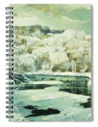Frosted Trees Spiral Notebook