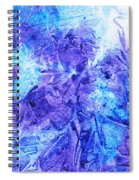 Frosted Window Abstract I   Spiral Notebook