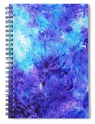 Frosted Window Abstract IIi Spiral Notebook