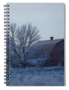 Frosty Barn Spiral Notebook