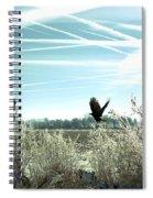 Frosty Flight Spiral Notebook