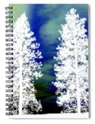 Frosty Giants Spiral Notebook