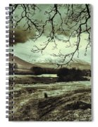 Frosty Morning At Glen'orchey   Spiral Notebook