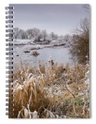 Frosty River Tyne Spiral Notebook