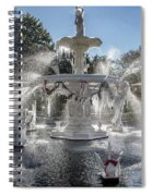 Frosty Savannah Winter Dream Spiral Notebook