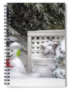 Frosty The Snow Man Spiral Notebook
