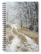 Frosty Trail Spiral Notebook
