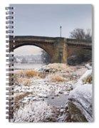 Frosty Tyne Spiral Notebook