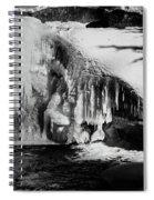Frozen Basin Spiral Notebook