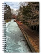 Frozen Canal Spiral Notebook
