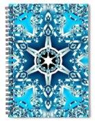 Frozen Divinity Spiral Notebook