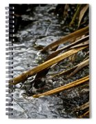 Frozen Edges And Ends Spiral Notebook