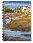 Frozen Enchantments Creek Spiral Notebook
