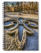 Frozen Garden  Spiral Notebook