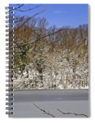 Frozen Lake Spiral Notebook