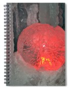 Frozen Marble Spiral Notebook