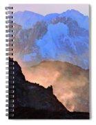 Frozen - Torres Del Paine National Park Spiral Notebook