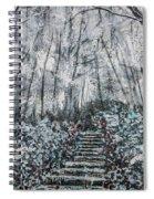 Frozen Memories Spiral Notebook