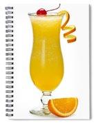 Frozen Orange Drink Spiral Notebook
