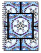 Frozen Orbweaver Page Spiral Notebook