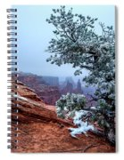 Frozen Overlook Spiral Notebook