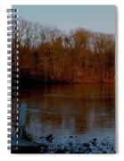 Frozen Reflection Spiral Notebook