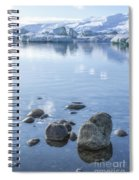 Frozen Serenity Spiral Notebook