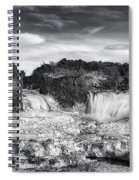 Frozen Splendor Spiral Notebook