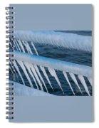 Frozen Stiff Spiral Notebook