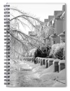 Frozen Suburbia Spiral Notebook