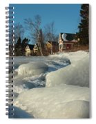 Frozen Surf Spiral Notebook