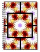 Frozen Whispers Page Spiral Notebook