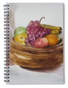 Fruit And Wine Spiral Notebook