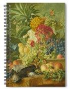 Fruit Flowers And Dead Birds Spiral Notebook