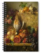 Fruit Flowers And Game Spiral Notebook
