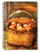 Fruit - Fresh Peaches  Spiral Notebook
