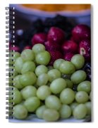 Fruit Mixer Spiral Notebook