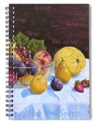 Fruit Of The Spirit Spiral Notebook