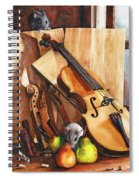 Fruit Of The Wood Spiral Notebook