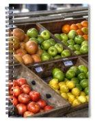 Fruit Stand Spiral Notebook