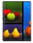 Fruit Trilogy Spiral Notebook